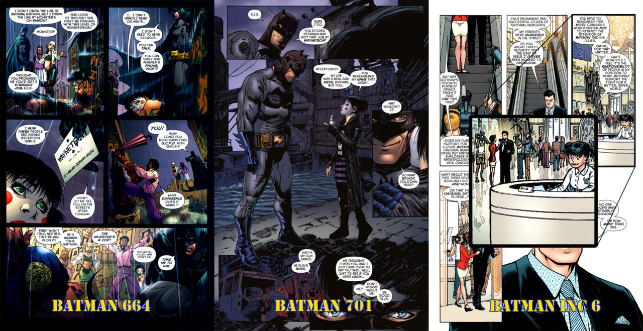 pages from Batman