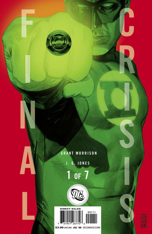 cover of final crisis 1