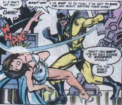 Pym hits his wife