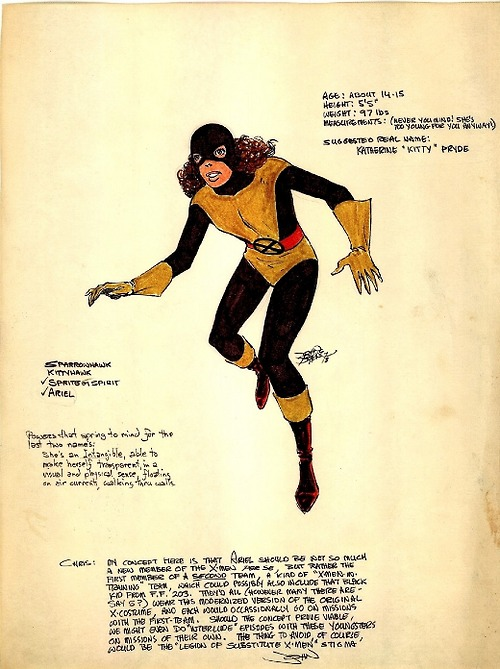 Kitty Pryde Pitch